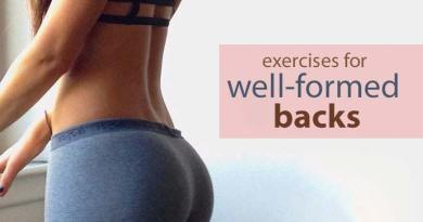 3 ideal exercises for well-formed backs