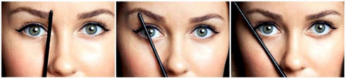 How to shape eyebrows properly