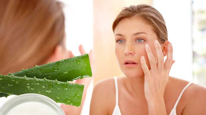 Homemade face masks with aloe vera and benefits