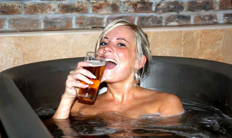 Uses of beer for beauty