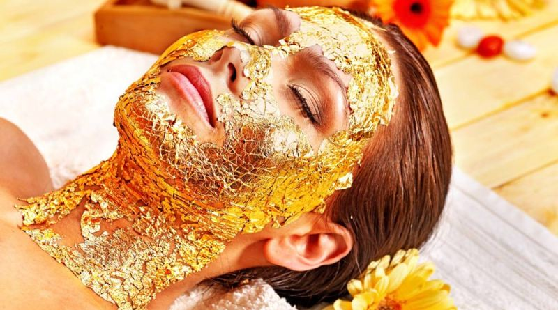 Benefits of the gold mask for the skin