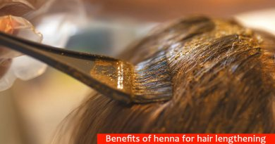 Benefits of henna for hair