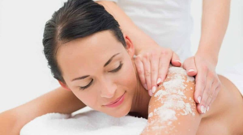 Body peel for sensitive skin