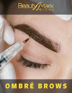 Ombré brow procedure