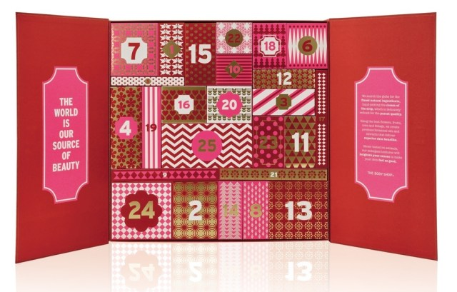 body shop ultimate advent calendar