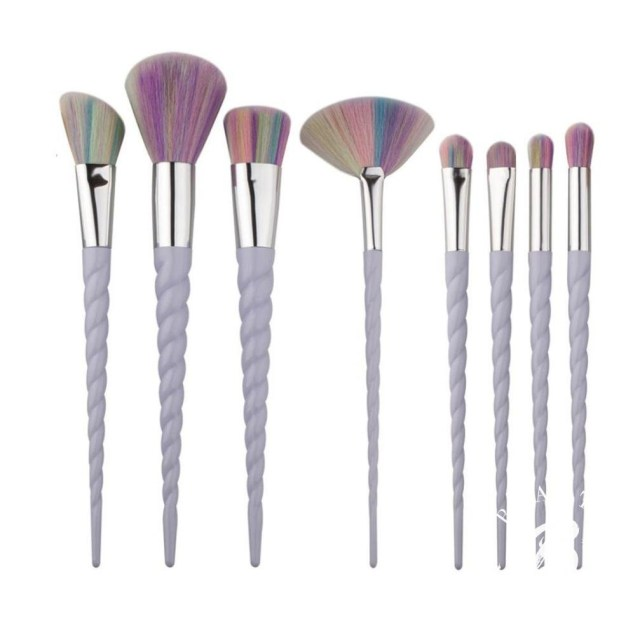 Primark unicorn brushes