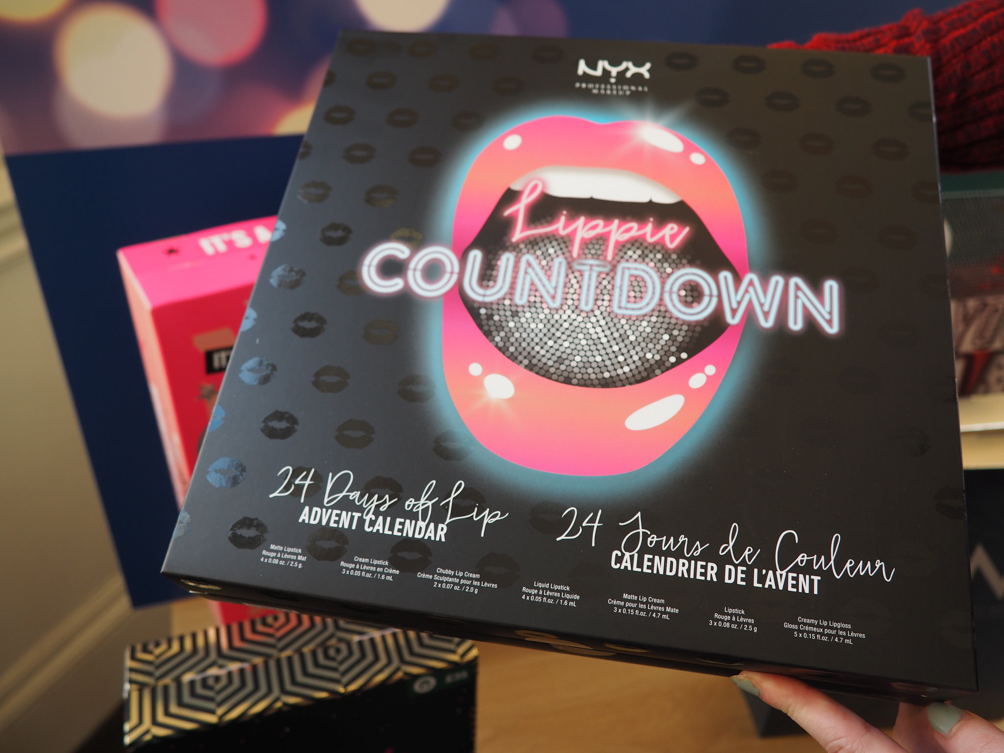 nyx beauty advent calendar 2017 boots