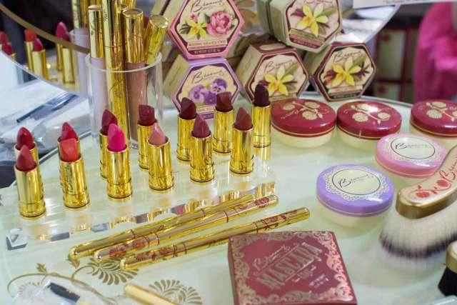 Besame Cosmetics makeup