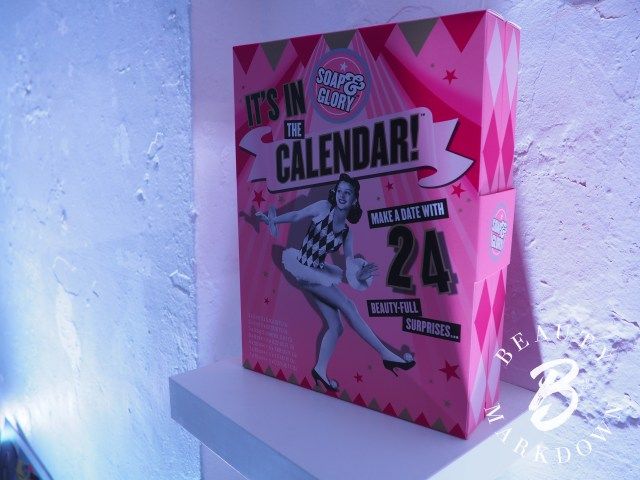 soap and glory advent calendar 2018