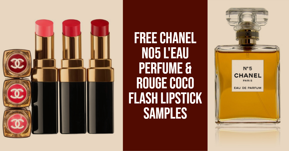 Free Chanel samples at Debenhams