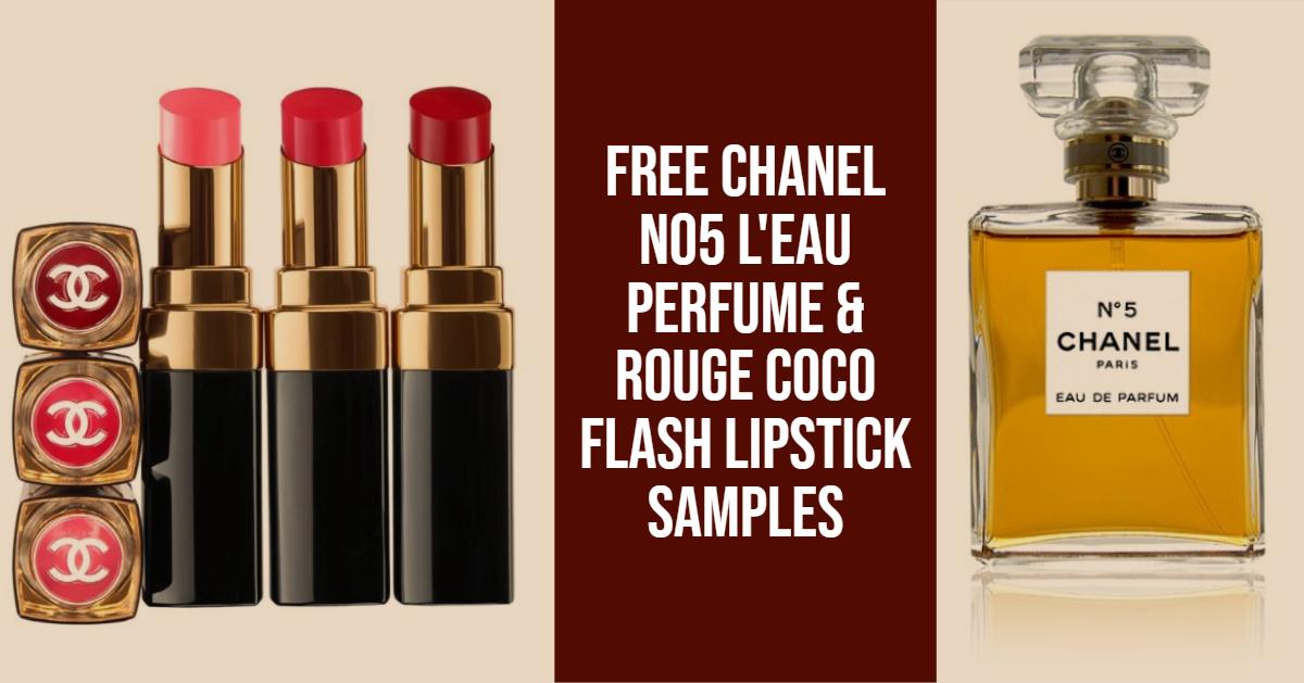 Free Chanel samples at Debenhams