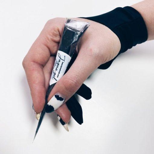 Перчатка на мизинец и безымянный палец