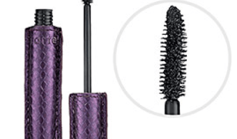 Tarte lights camera lashes mascara in black with purple snakeskin print