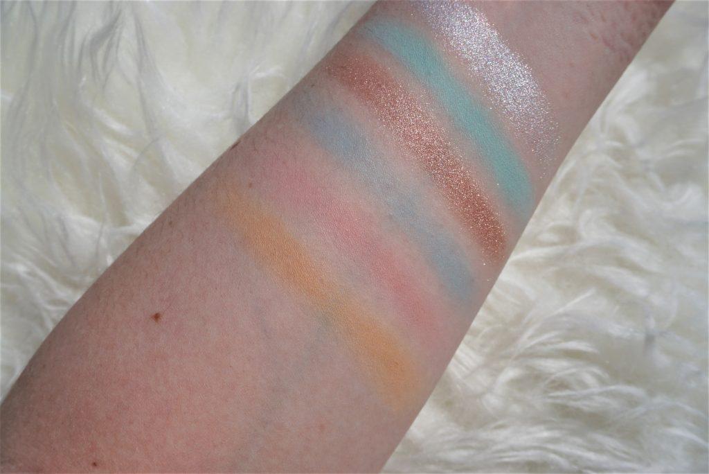 Jeffree Star Cosmetics Blue Blood Palette   Review 2