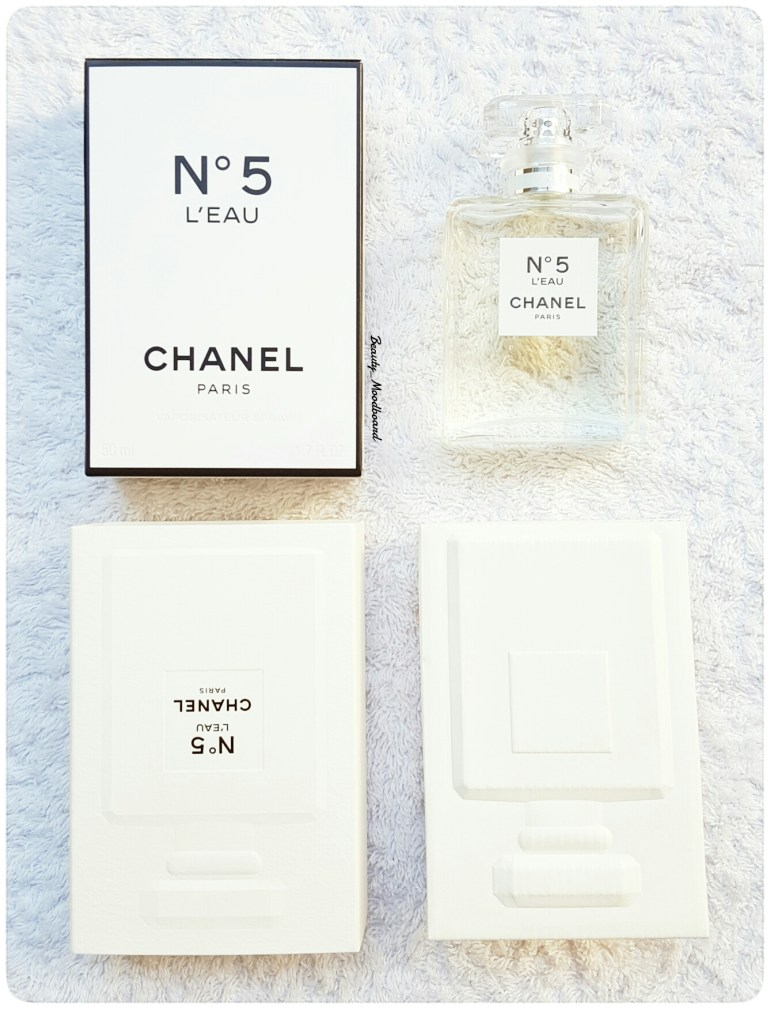 Packaging Chanel n°5 L'Eau