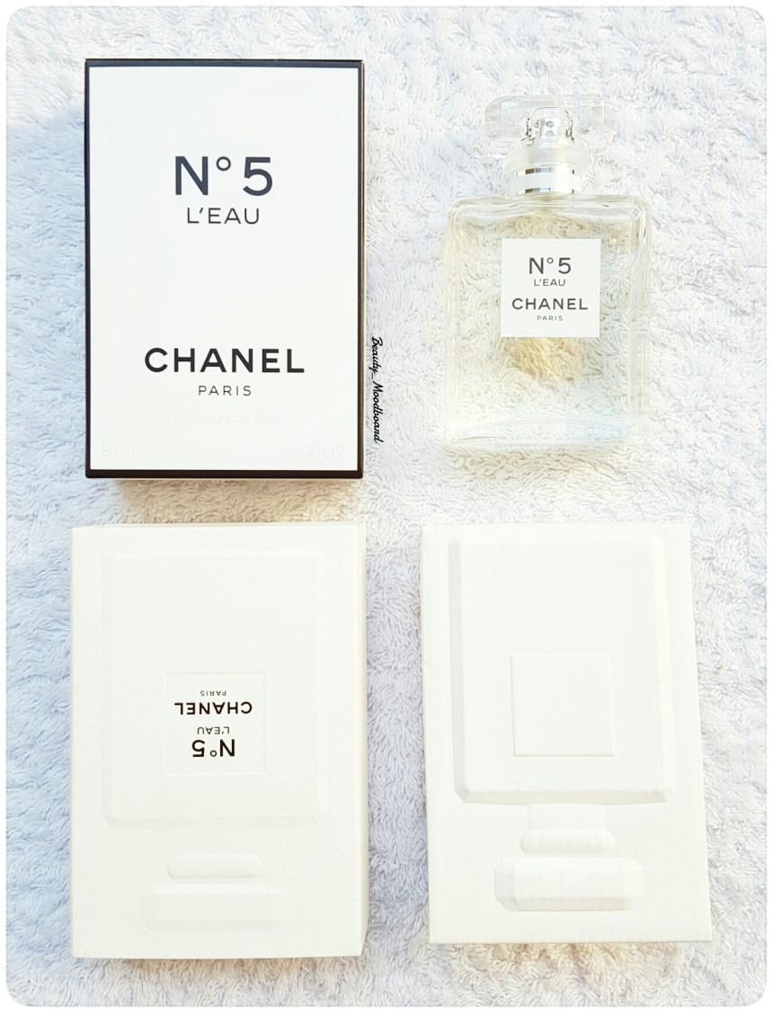 Packaging Chanel n°5 L'Eau