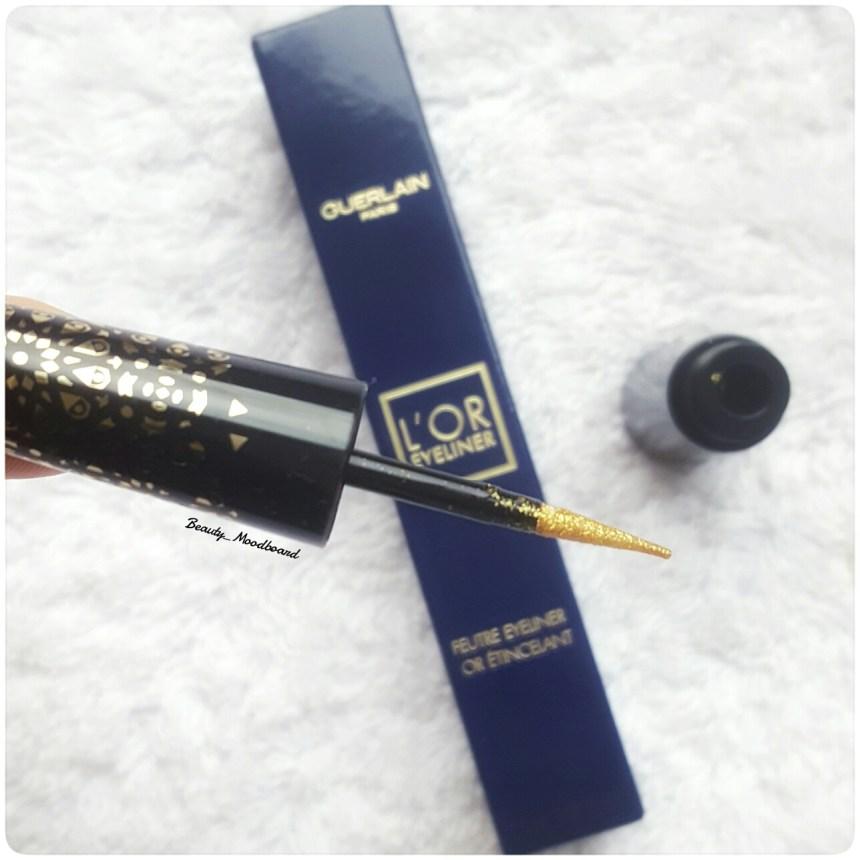L'or eyeliner Guerlain édition limitée noël 2016