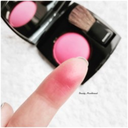 Un passage sur le blush
