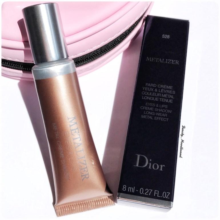 Dior fard crème Metalizer 528