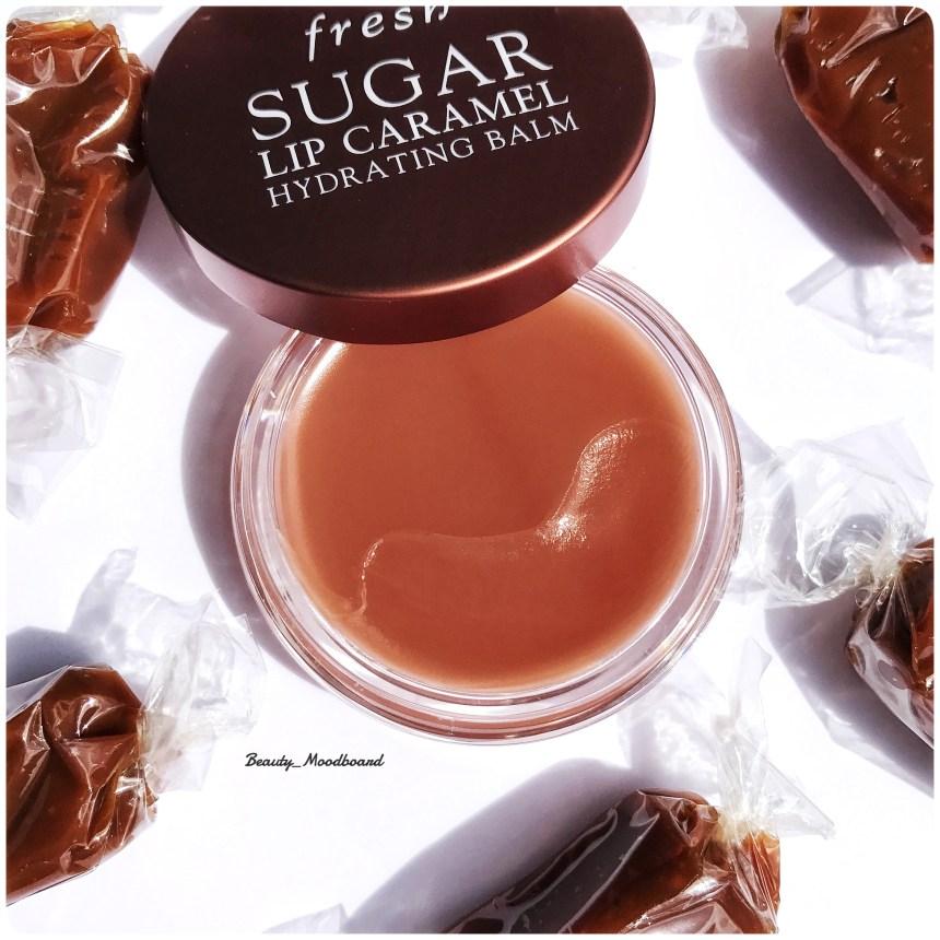 Texture ultra fondante baume au sucre hydratant pour les lèvres au caramel