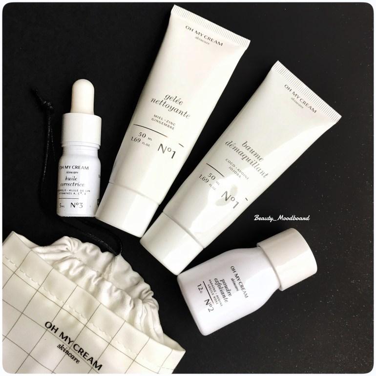 Kit de voyage rééquilibrant Oh My Cream Skincare