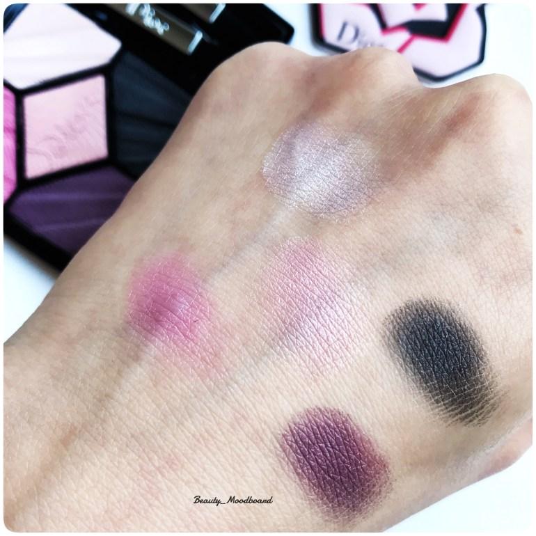 Swatch Palette 5 couleurs Flirt 667 Dior Look Printemps 2018