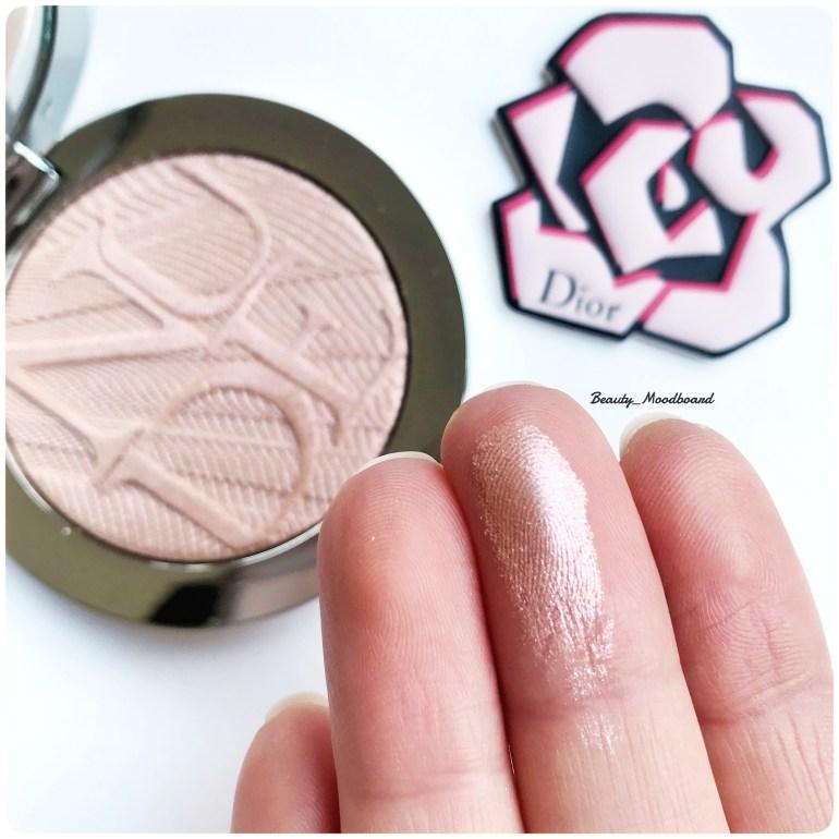 Swatch Dior Skin Nude Air Luminizer Holo Gold 002