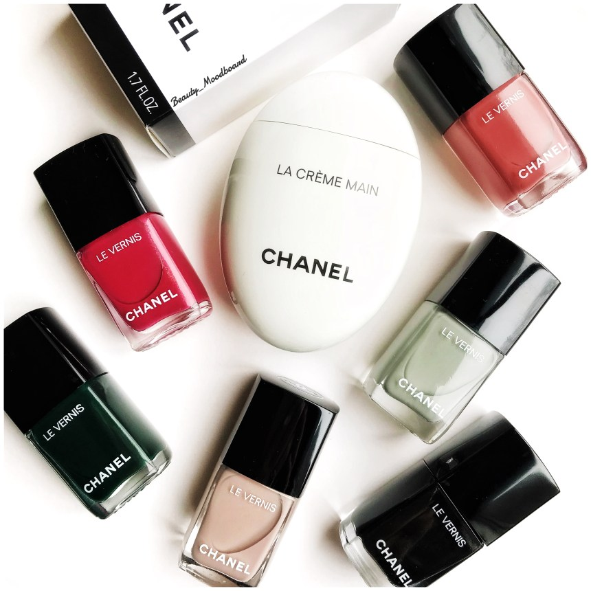 Soin hydratant chanel et vernis à ongles