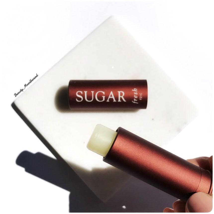 Baume pour les lèvres à la composition naturelle sucre citron