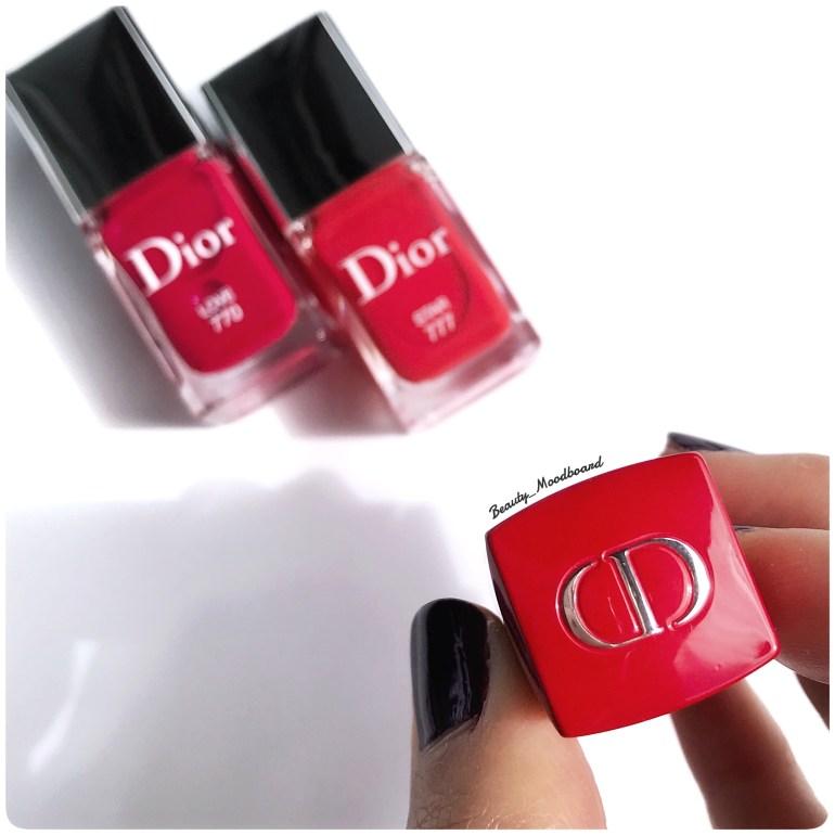 Détail étui lipstick Dior