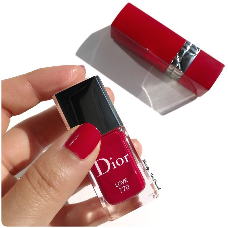 Swatch vernis Love 770 Dior