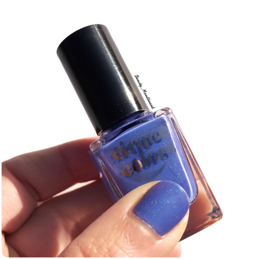 Vernis Nocturne bleu pervenche shimmer