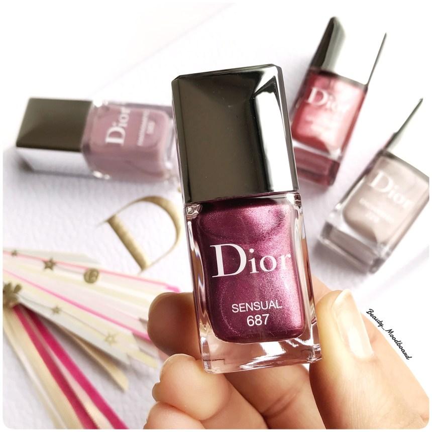 Beauty HorosKope Novembre 2018 Vierge vernis Dior Sensual 687