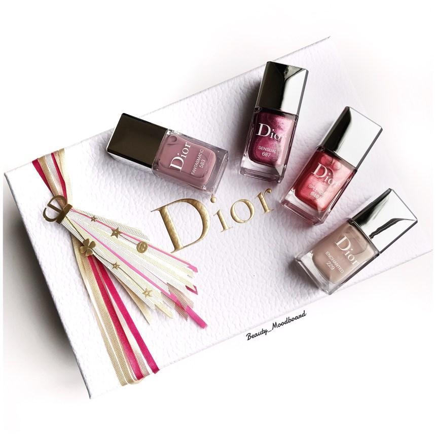 Dior Vernis Capsule Noël 2018 édition limitée