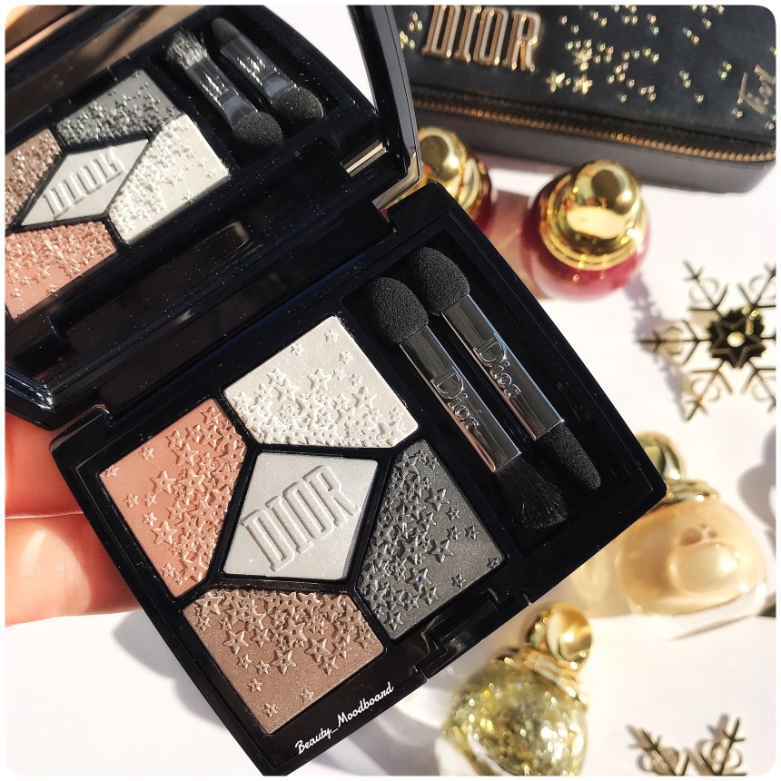 Dior Midnight Wish Holiday 2018 Palette 5 couleurs Moonlight 057
