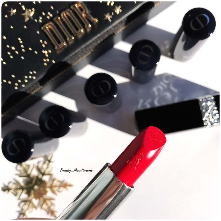 Rouge Dior Bliss collection Noël 2018 teinte Red Smile 080