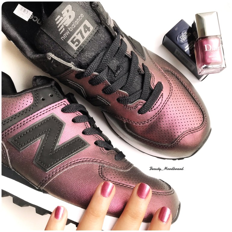 Baskets New Balance WL574 Noir Fashion week janvier 2019
