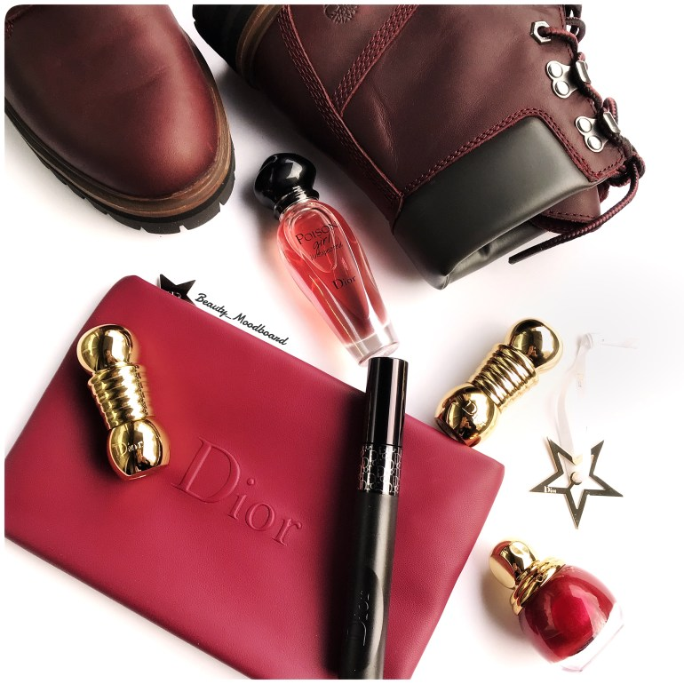 Timberland London Square 6tin Boot Burgundy et makeup Dior