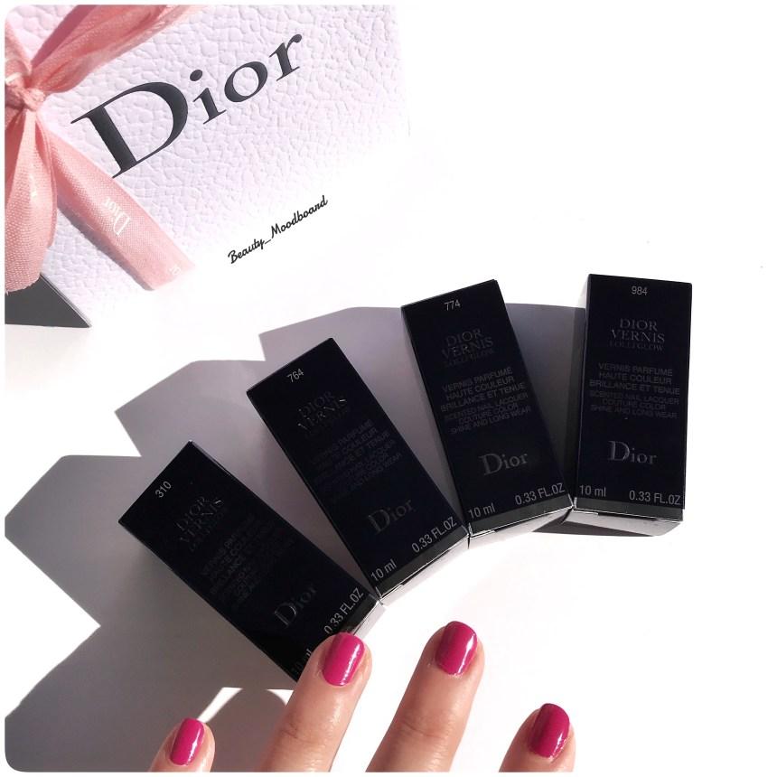 Dior Vernis Lolli Glow Spring Look 2019