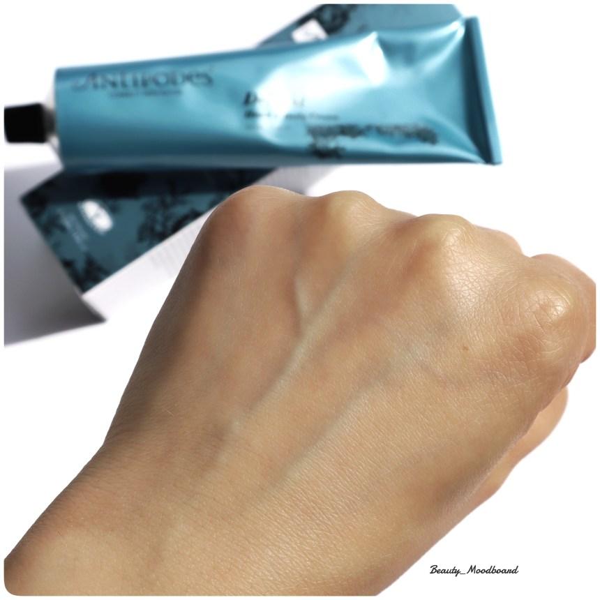 Résultat sur la peau de la crème Antipodes Delight Hand & Body