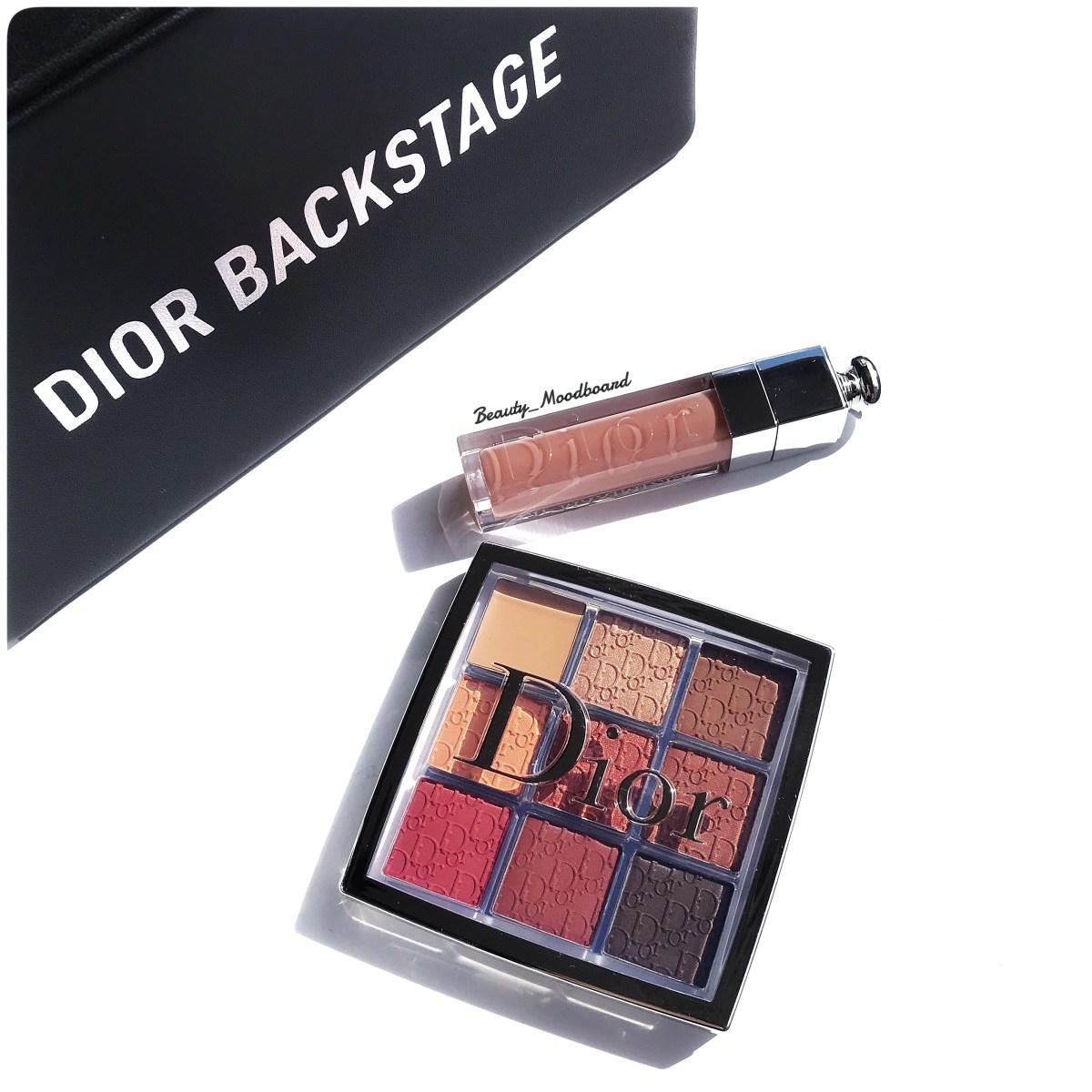 Dior Backstage Eye Palette Amber Neutrals 003 & Dior Addict Lip Maximizer Beige 013 #newnew !