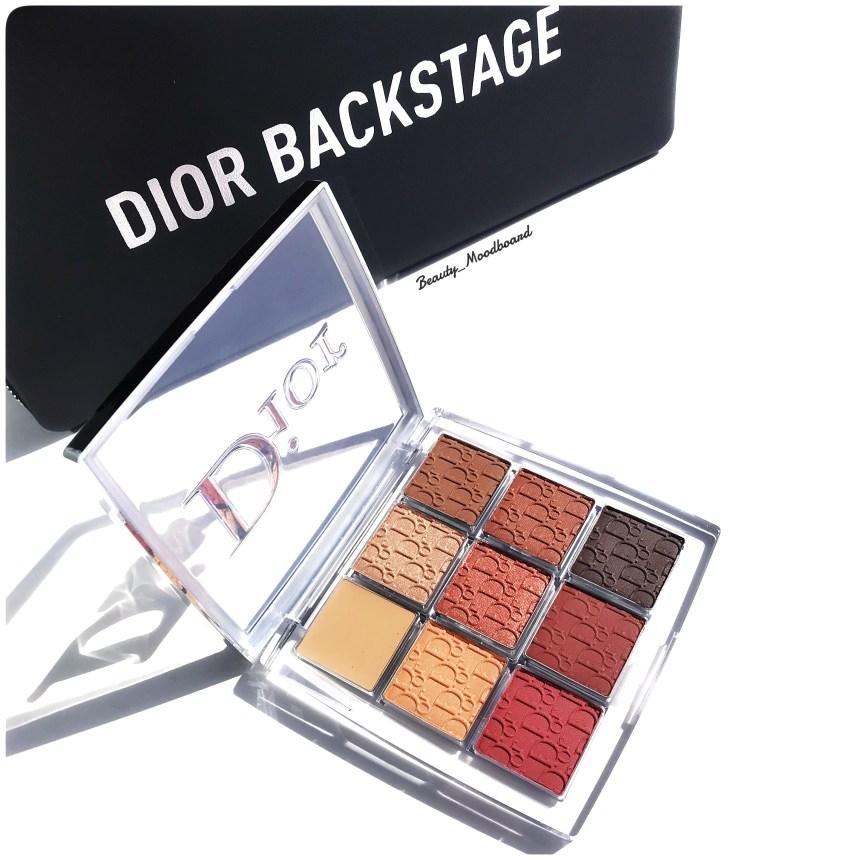 Dior Backstage Eye Palette Amber Neutrals 003 tons cuivrés intenses