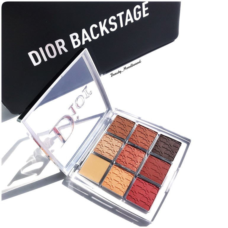 Dior Backstage Eye Palette Amber Neutrals 003 tons cuivrés intenses