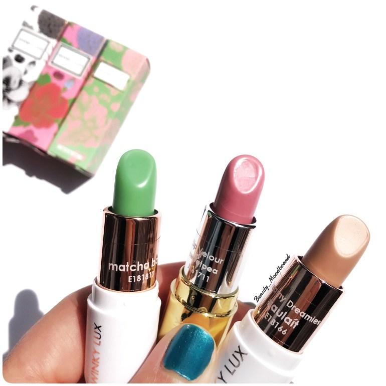 Winky Lux Lipsticks 3 couleurs pour les Taureaux