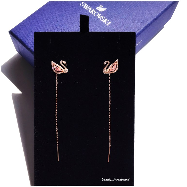 Pour les mamans Scorpion Boucles d'oreilles Swarovski Dazzling Swan