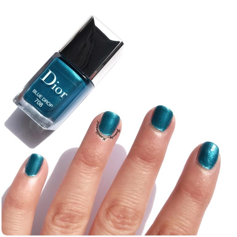 Swatch Vernis Dior été 2019 Blue Drop 708
