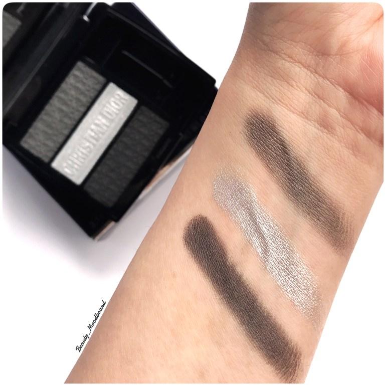 Swatches palette Dior 3 Couleurs Tri(O)blique Smoky Canvas 053