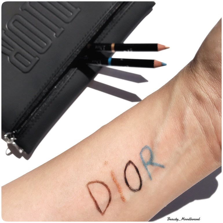 Swatch Diorshow In & Out Eyeliner Waterproof Wild Earth Summer 2019