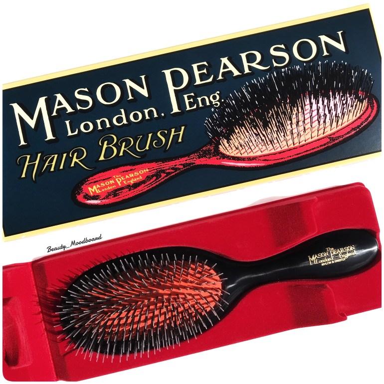 Brosse à cheveux Handy Mixte Dark Ruby dans son packaging