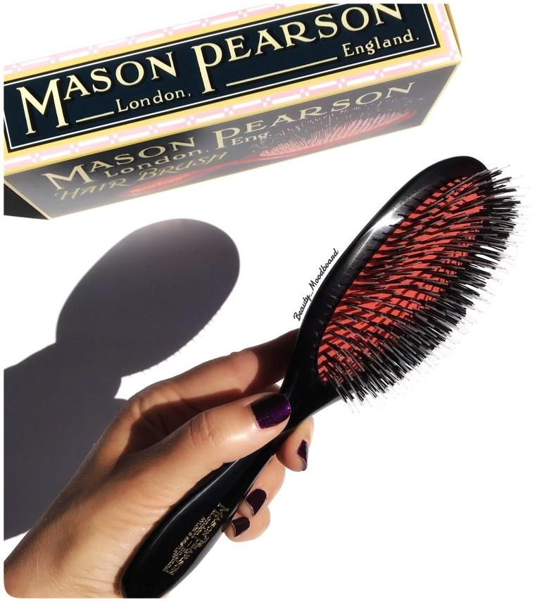 Mason Pearson Handy Mixte Duo Picots Nylon Et Soies